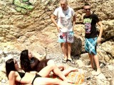 Vidéo porno mobile : They never met each other & they have sex on the beach!